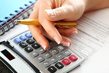 Расчет задолженностей по налогам