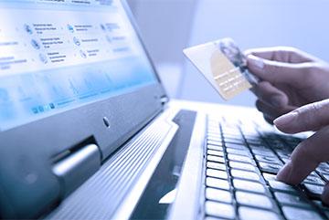 Введение личных данных на интернет-портал