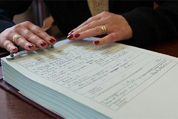 Обращение в ЗАГС по поводу восстановления документа о рождении
