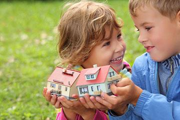 Дарение недвижимости ребенку