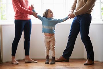 Решение вопроса о месте жительства ребенка