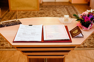 Документы для подачи заявления в ЗАГС
