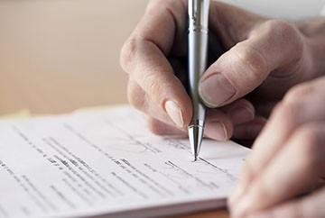 Документ от руки о получени денег в долг