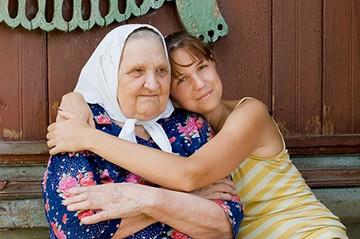 Опека над бабушкой