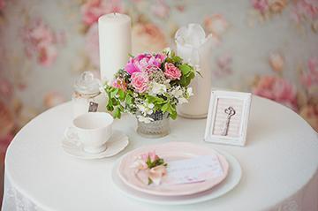 Свадебный стол - украшение