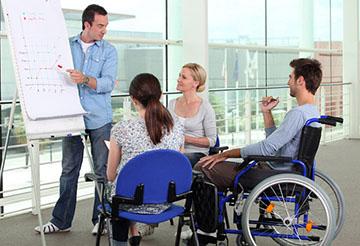 Инвалид в трудовом коллективе