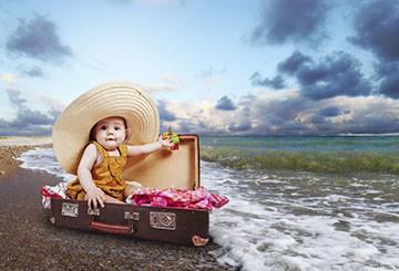 Отъезд в отпуск с ребенком