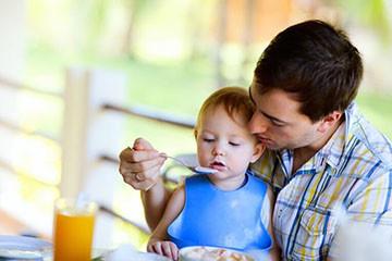 Проживание ребенка с отцом