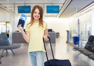 Путешествие ребенка без родителей