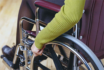 Взрослый инвалид