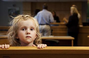 Развод и маленькие дети
