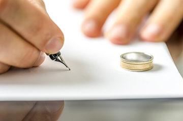 подача на развод