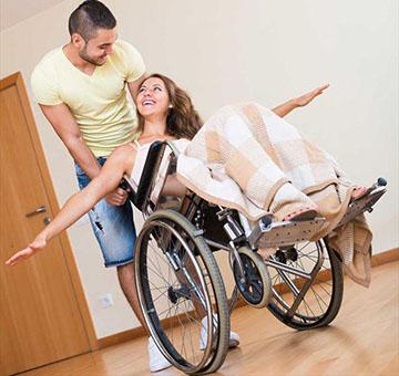 человек на инвалидности