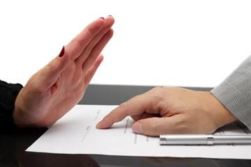 Письмо на расторжение договора на оказание страховых услуг образец